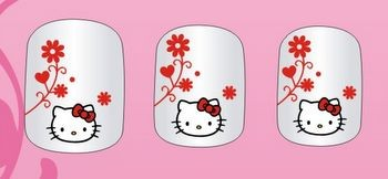 U�as Decoradas Hello Kitty para Chicas