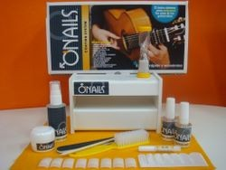 Kit de Gel UV  para Guitarristas Uñas duras