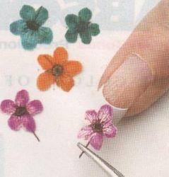 Flores secas para decorar color tabaco onails - Flores secas para decorar ...